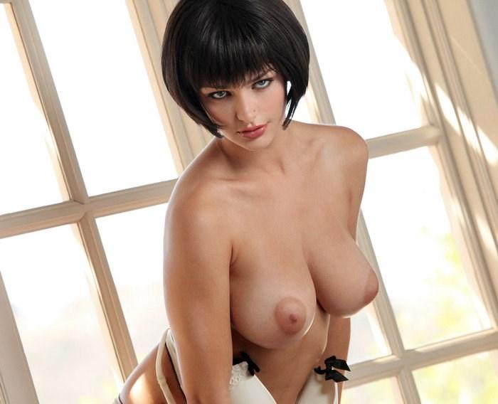 Хорошенькие девахи с красивыми буферами и без трусиков телами